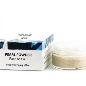 Whitening Black Spots Pearl Face Mask 100 % Natural. Private Label | Wholesale | Bulk Made In EU