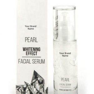 Whitening Black Spots Pearl Face Serum 100% Natural Product Private Label | Wholesale | Bulk Made In EU