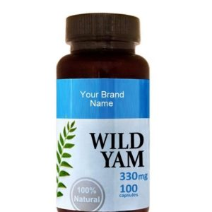 Wild Yam Food Supplement Natural Private Label | Wholesale