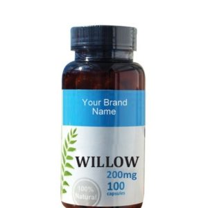 Willow Food Supplement Natural Private Label | Wholesale