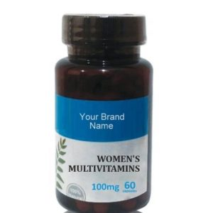 Women's Multivitamins Food Supplement Natural Private Label | Wholesale