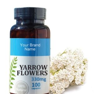 Yarrow Food Supplement Natural Private Label | Wholesale