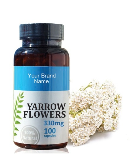 Yarrow Food Supplement Natural Private Label | Wholesale ...