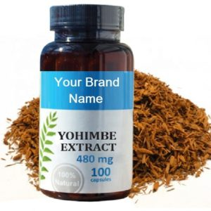 Yohimbe Bark Extract Natural Private Label | Wholesale