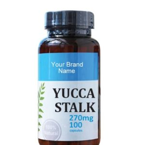 Yucca Stalk Food Supplement Natural Private Label | Wholesale