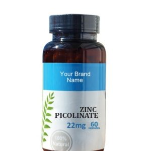 Zinc Picolinate Food Supplement Natural Private Label | Wholesale