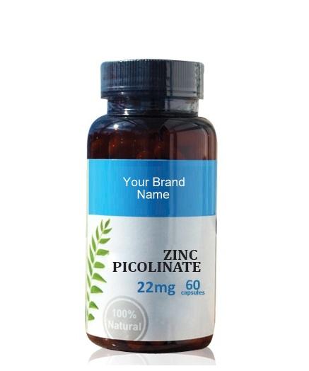 Zinc Picolinate Food Supplement Natural Private Label   Wholesale